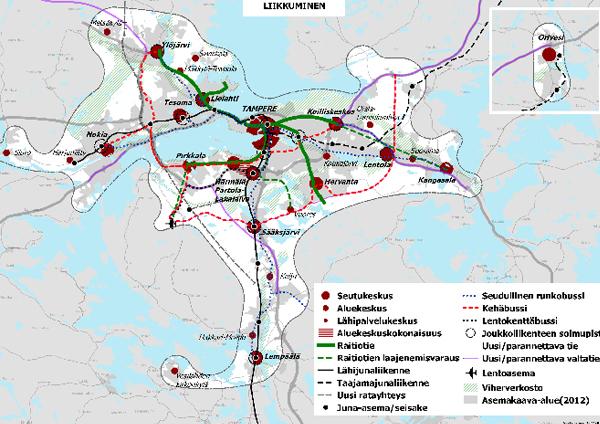 Liikkuminen Tampereenseutu 2040